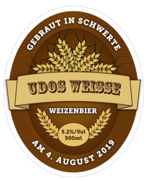 Label Udos Weisse